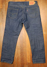 Levis XX 501 Button Fly Jeans Raw Unwashed Denim Jeans 36 x 30 Shrink to Fit