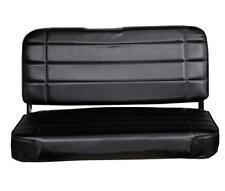 Jeep CJ Wrangler YJ Standard Rear Seat  55-95 Black Denim Smittybilt 8001N