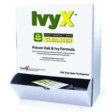 IvyX Cleanser Towelettes (Post-contact) Case Pack 50 for Poison Oak & Ivy