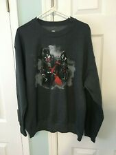 LVL UP Loot  Crate Assassin's Creed Graphic Gaming Sweatshirt Crew Neck Sz Large
