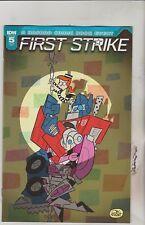 IDW Comics First Strike #1 August 2017 Variant a 1st Print NM