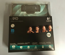 Logitech C910 1080p HD Pro USB Webcam - unopened box