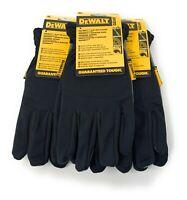 3 Pack DEWALT DPG218 RapidFit  Slip On Glove