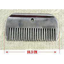 Stainless Steel Rustless Horse Pony Grooming Comb Tool Currycomb Accessory