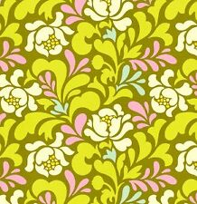 Heather Bailey Pop Garden Sway in Lime Fabric 1yd HB04 100% Cotton
