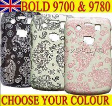 FUNKY FLORAL FLOWER HARD PLASTIC CASE COVER For Blackberry Bold 9700 & 9780