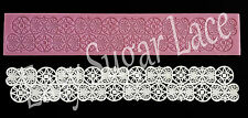 Silicone RETRO CAKE LACE Mat / Mold for Edible Sugar Lace FREE Shipping