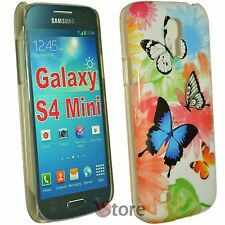 Cover For Samsung Galaxy S4 Mini i9195 Butterflies + Display Film
