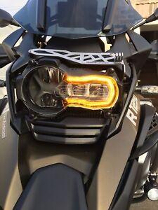 BMW R1250 GS & GSA  Headlight Guard Personalised Engraving