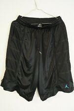 Air Jordan Basketball DRI-FIT Shorts GR: Large Schwarz / Blau