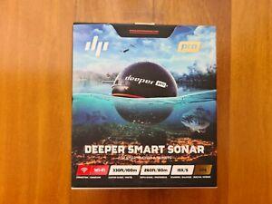 BRAND NEW / SEALED - DEEPER PRO+ - Smart Sonar GPS Portable Wireless Fishfinder