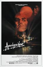 APOCALYPSE NOW (1979) ORIGINAL MOVIE POSTER - R-1989 - ROLLED - BOB PEAK ARTWORK