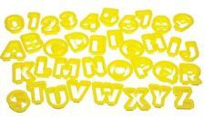 Let's Make Set stampini per biscotti a forma di lettere e numeri, 36 pz, (M3N)