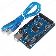 Microcontrolador de placa ATMEGA 2560 16AU + Cable USB para Arduino Mega 2560 Módulo