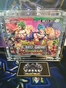 Dragon Ball Super Series 7 - Assault of the Saiyans Booster Box SEALED TCG