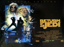 More details for star wars return of the jedi special edition uk quad poster 30