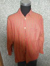 180 14a SIGNUM Hombre Camisa Informal Talla M Sombrero Hongo Verde Amarillo