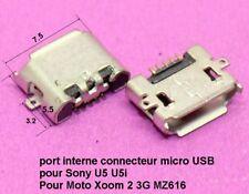 port interne micro USB Sony U5 U5i / pour Moto Xoom 2 3G MZ616  .C61.3