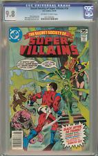 Secret Society of Super Villains #14 (CGC 9.8 OW/W) 1978 Highest Graded