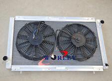 Aluminum Radiator for SUBARU IMPREZA WRX GC8 STI 2.0L 1992-2000 Manual & FANS