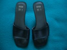 LADIES black M&S SANDALS PARTY SHOES. SIZE 3 IMMACULATE!