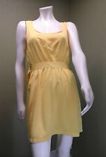 Forever 21 Yellow Dress W/ Open Back ~Size L