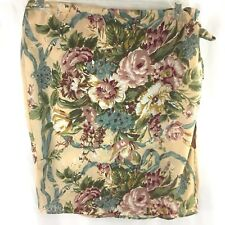 The Limited Floral Wrap Skirt Size 12 Side Tie Womens Straight Layered