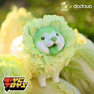 DODOWO Cabbage Dog Cute Art Designer Toy Figurine Collectible Figure Pop Display