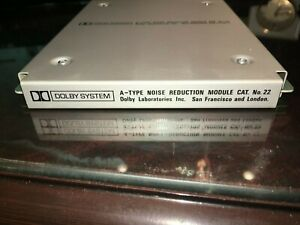 Dolby Cat. 22 Type A noise reduction module