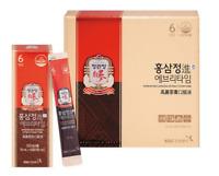 KGC Cheong Kwan Jang Korean Red Ginseng Extract Jin Everytime 10ml x 30 Pouches