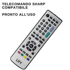 Telecomando SHARP compatibile pronto all'uso per TV LCD LED e PLASMA