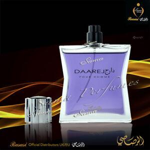 Daarej MEN - 100 ml -  Amber, Sandalwood, Musk Fresh/Sparkling-Rasasi Distributr