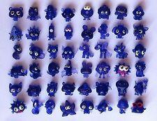 MOSHI MONSTERS Series 1 Full Set 48 Purple Glitter ☆ Iggy Oddie Burnie Shi Shi