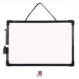 A4 Magnetic White Board & Pen Dry Wipe Kids Home School Office Memo Notice CH UK