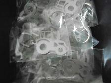 Schlüsselanhänger Trecker aus Edelstahl