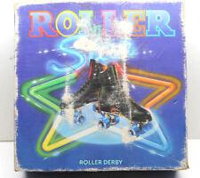 Vintage 1983 Official Roller Derby Skate Skates Size 9 Leather Uppers w/Orig Box