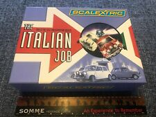 Scalextric The Italian Job Limited Edition - EMPTY BOX & Collectors Card ONLY!!!
