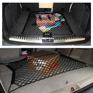 1Set Car Auto Rear Trunk Boot Floor Cargo Net Luggage Elastic Mesh Storage Fixed
