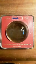 1963 The East Dayton Ohio & Die Co. Magnifying Glass Advertising