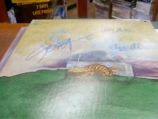 rare signed by all the band  lp  JOHN HAMMOND SOURCE POINT  with cerfication