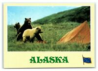 Denali one side Denali National park 1 inch metal collector Token USGS marker