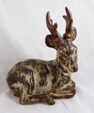 RARE Royal Copenhagen Knud Kyhn Figurine Stoneware Deer 20507 Stunning Condition