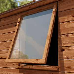 Replacement Garden Shed Windows Cut to size Clear Acrylic Perspex Plastic Sheet