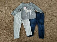 Baby Toddler Girl Outfit Size 12-18 Months, 18 Months Outfit, Unicorn Shirt