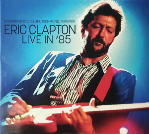 Eric Clapton - Live In '85 (2018)  2CD Limited Numbered Edition  NEW SPEEDYPOST