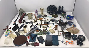 Huge Bundle of Vintage 80s, 90s & Weapons and Toy Accessories Figures star wars
