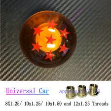 Universal Shift Knob Acrylic Dragon Ball Z 7 Star Round for Toyota Honda New