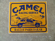 AUTOCOLLANT CAMEL RACING SERVICE RALLYE PARIS DAKAR CITROEN  K52