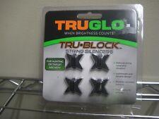 TruGlo Tru-Block String Silencers Bow Hunting Deer Elk Turkey