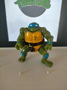 Vintage TMNT Teenage Mutant Ninja Turtles figure HEADDROPPIN LEONARDO 🐢 1991